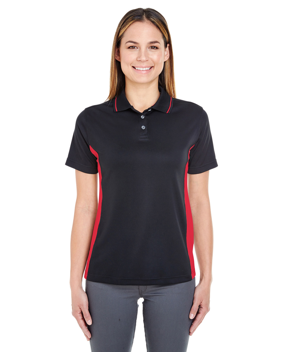 Ladies' Cool & Dry Sport Two-Tone Polo