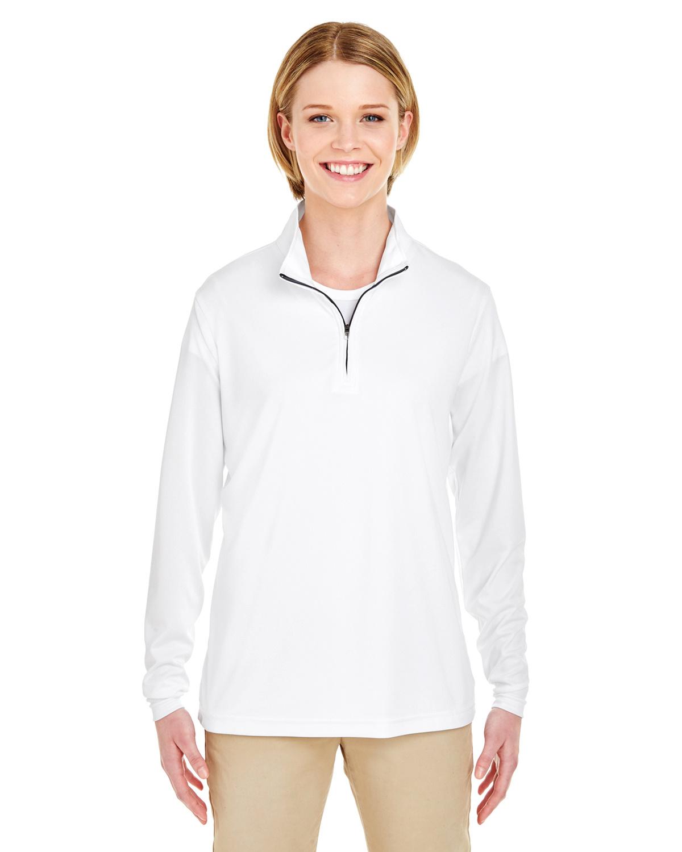Ladies' Cool & Dry Sport Performance Interlock Quarter-Zip Pullover