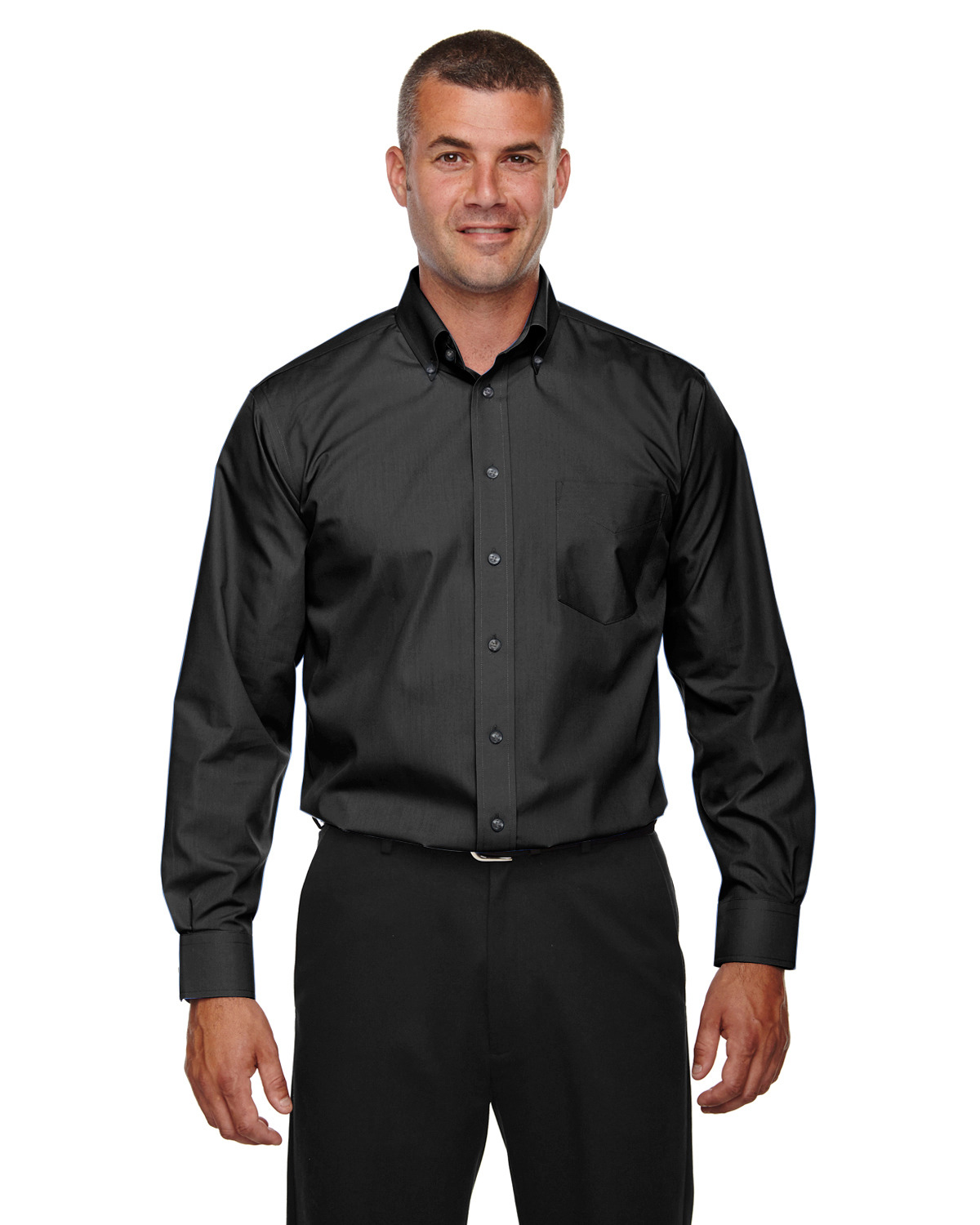 Men's Crown Collection™ Solid Broadcloth