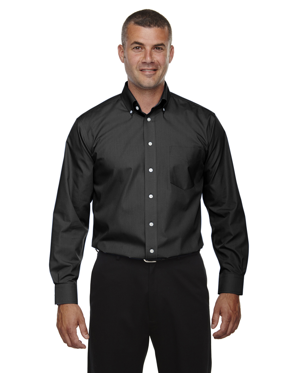 Men's Tall Crown Collection™ Solid Broadcloth