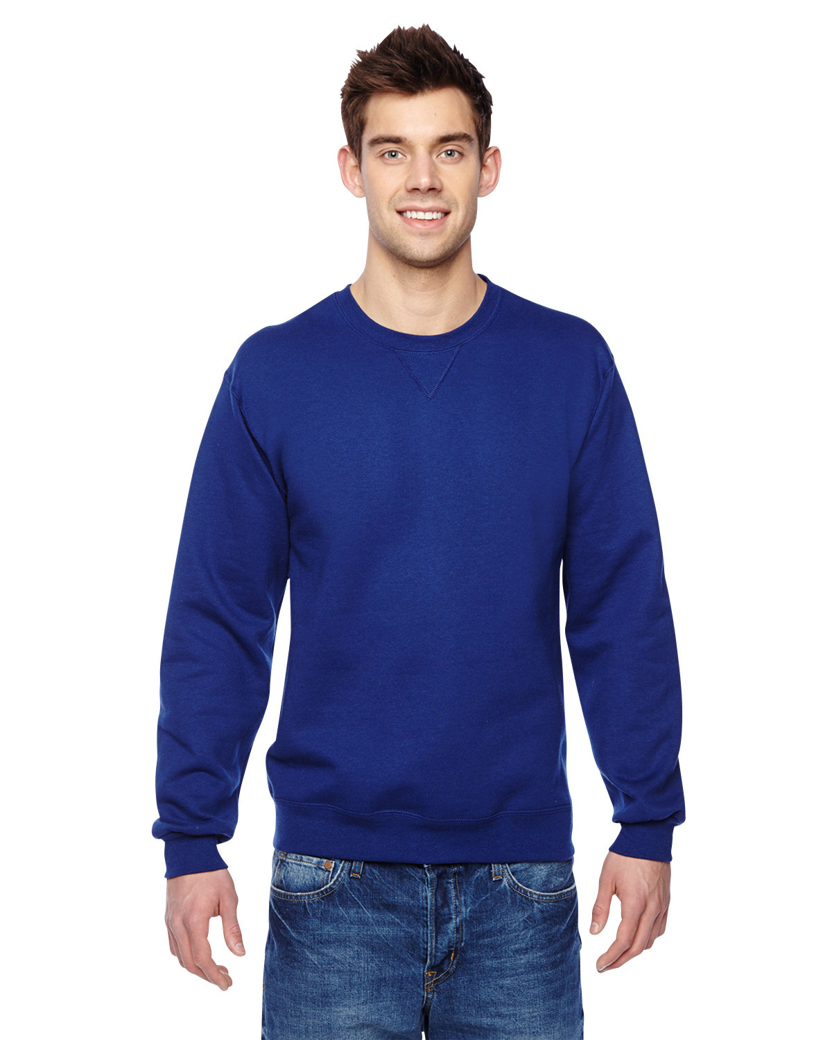 Adult 7.2 oz. SofSpun® Crewneck Sweatshirt