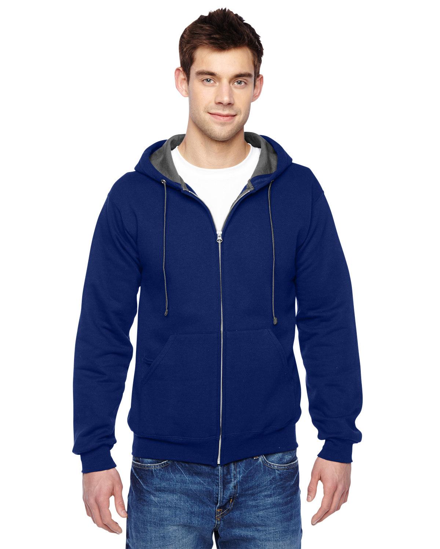 Adult 7.2 oz. SofSpun® Full-Zip Hooded Sweatshirt