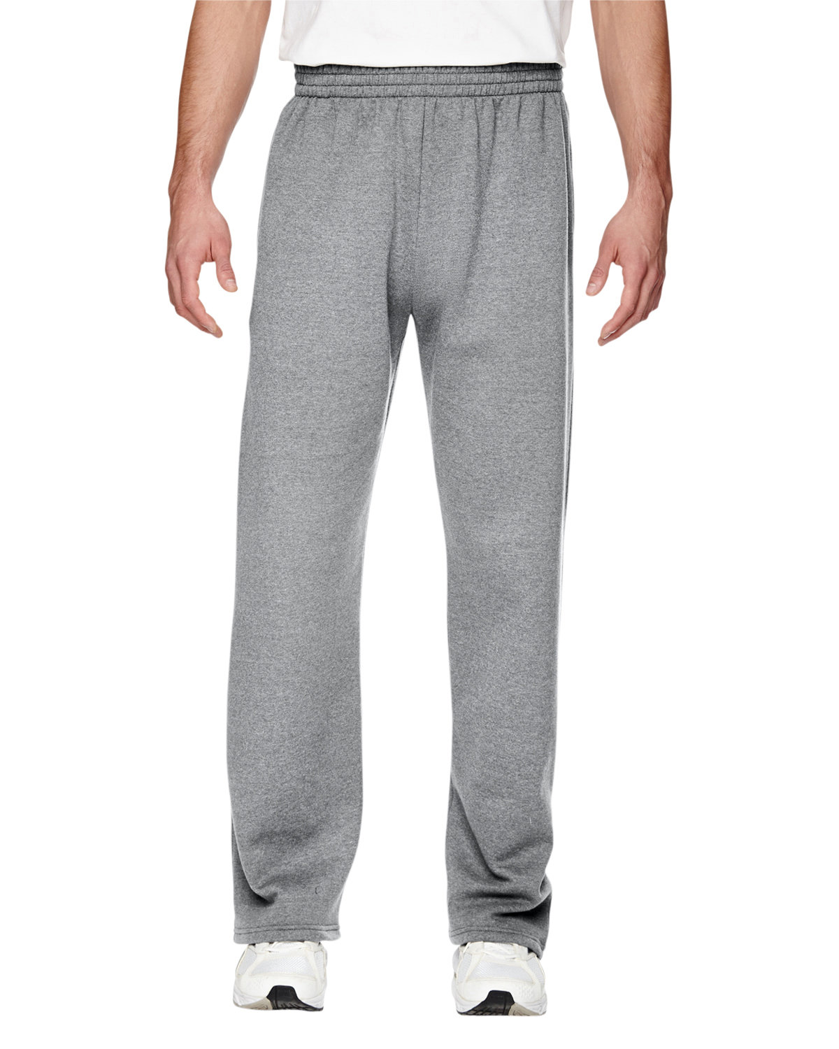Adult 7.2 oz. SofSpun® Open-Bottom Pocket Sweatpants