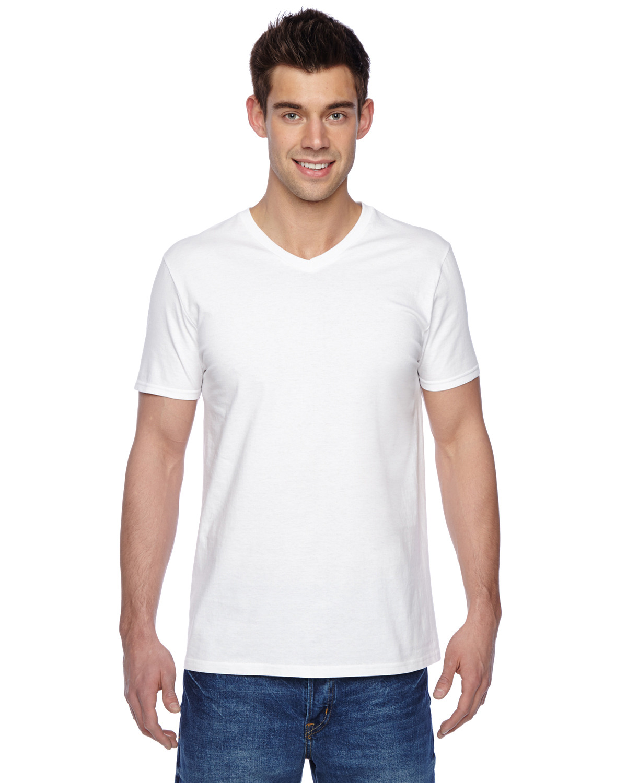 Adult 4.7 oz. Sofspun® Jersey V-Neck T-Shirt