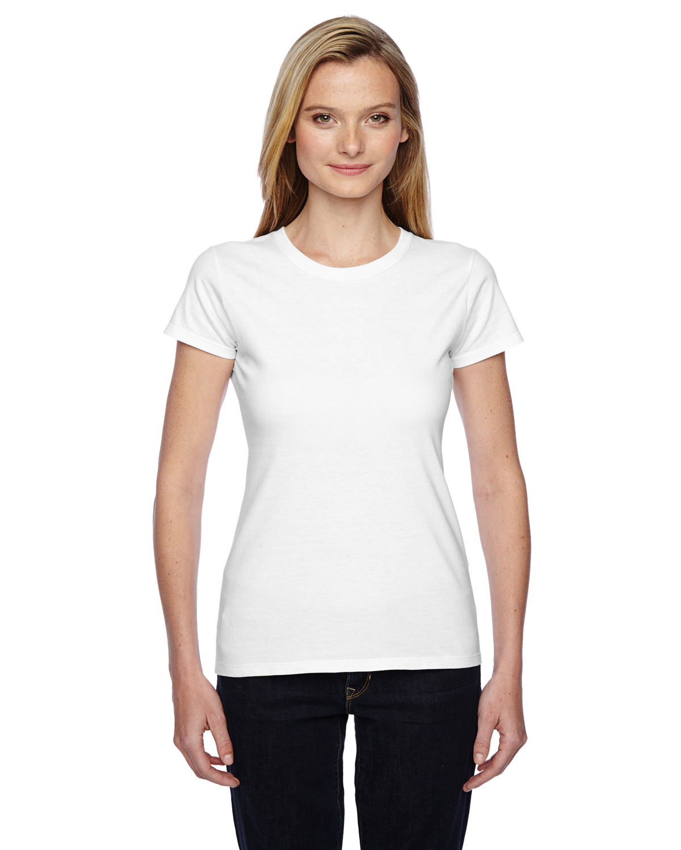 Ladies' 4.7 oz. Sofspun® Jersey Junior Crew T-Shirt