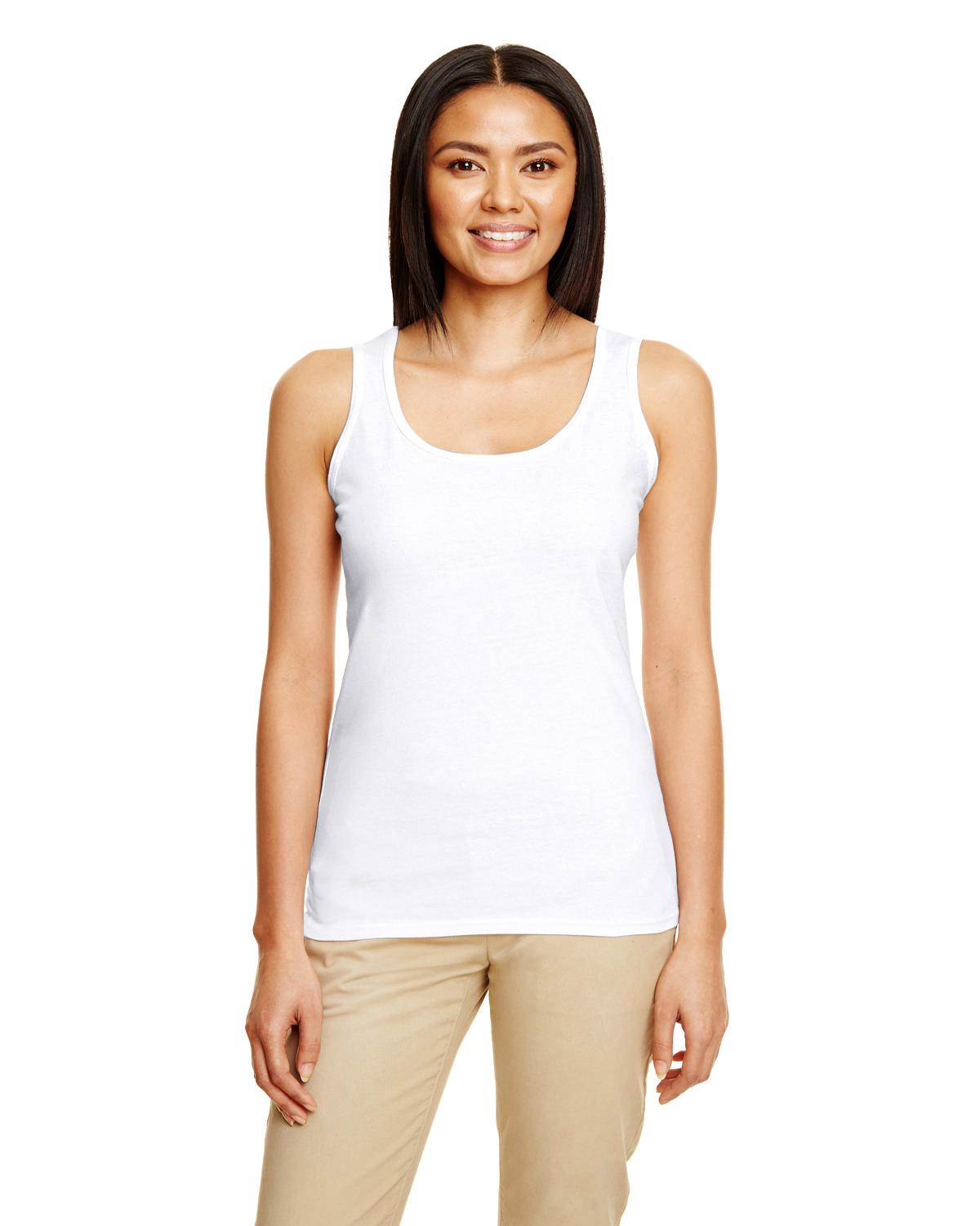 Ladies' Softstyle® 4.5 oz Racerback Tank