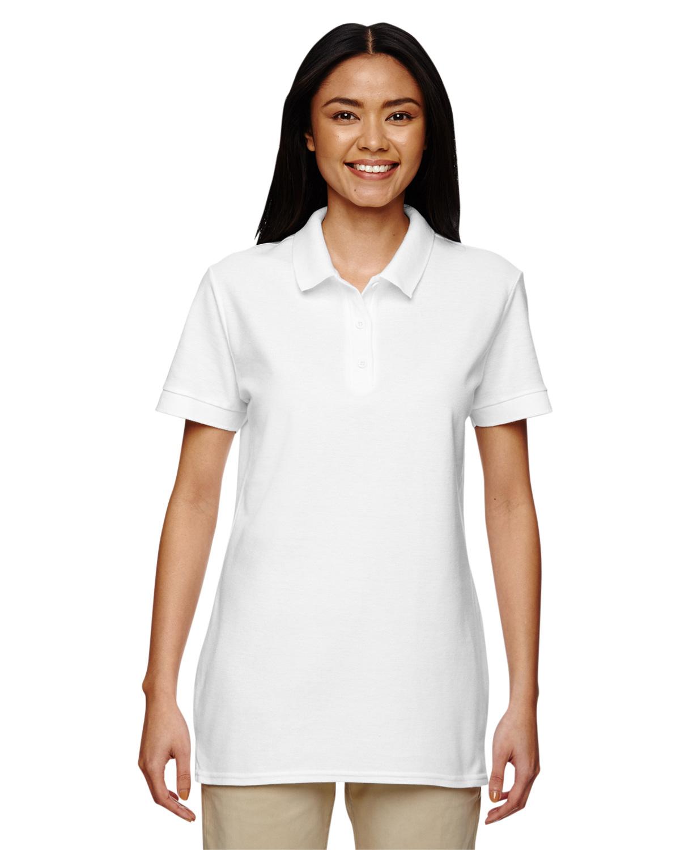 Ladies' Premium Cotton® 6.6 oz. DoublePiqué Polo