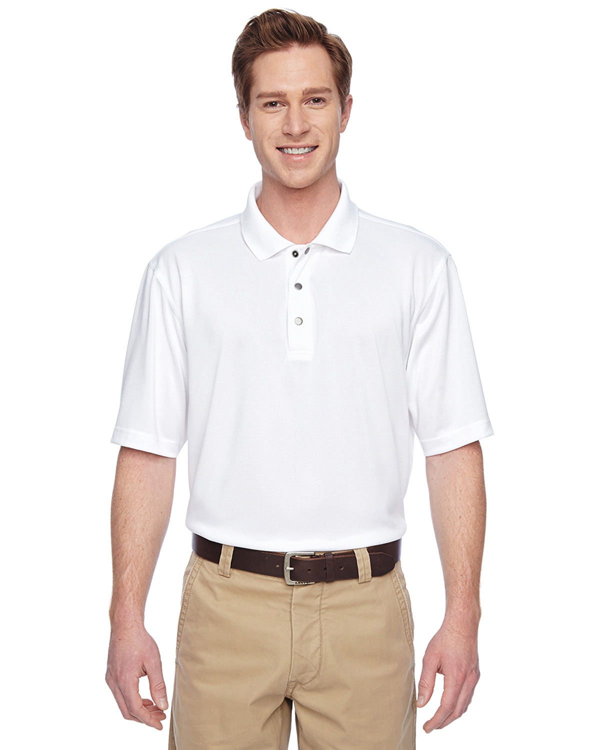 Men's Advantage IL Snap Placket Performance Polo