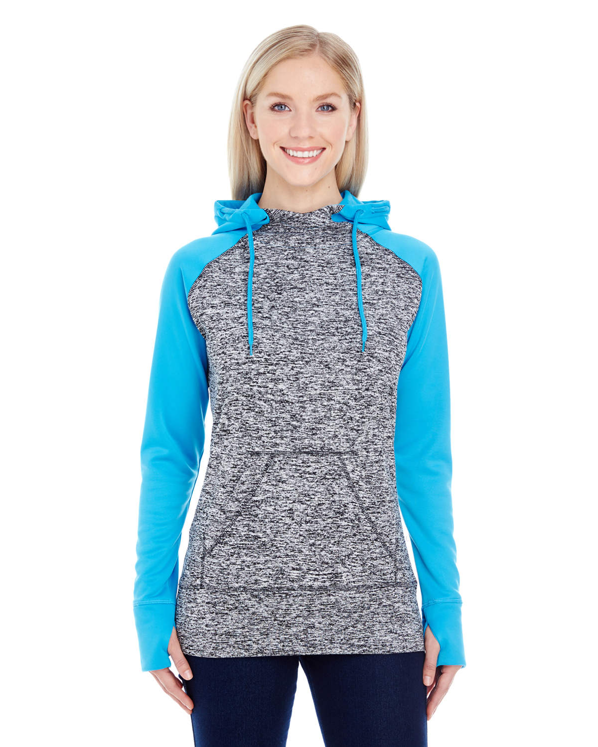 Ladies' Colorblock Cosmic Hood