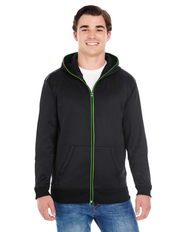 Adult Glow Full-Zip Hood