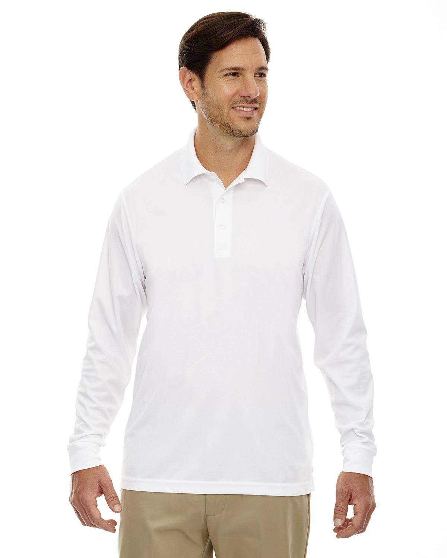 Men's Pinnacle Performance Long-Sleeve Piqué Polo