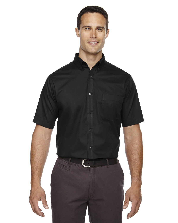 Men's Optimum Short-Sleeve Twill Shirt