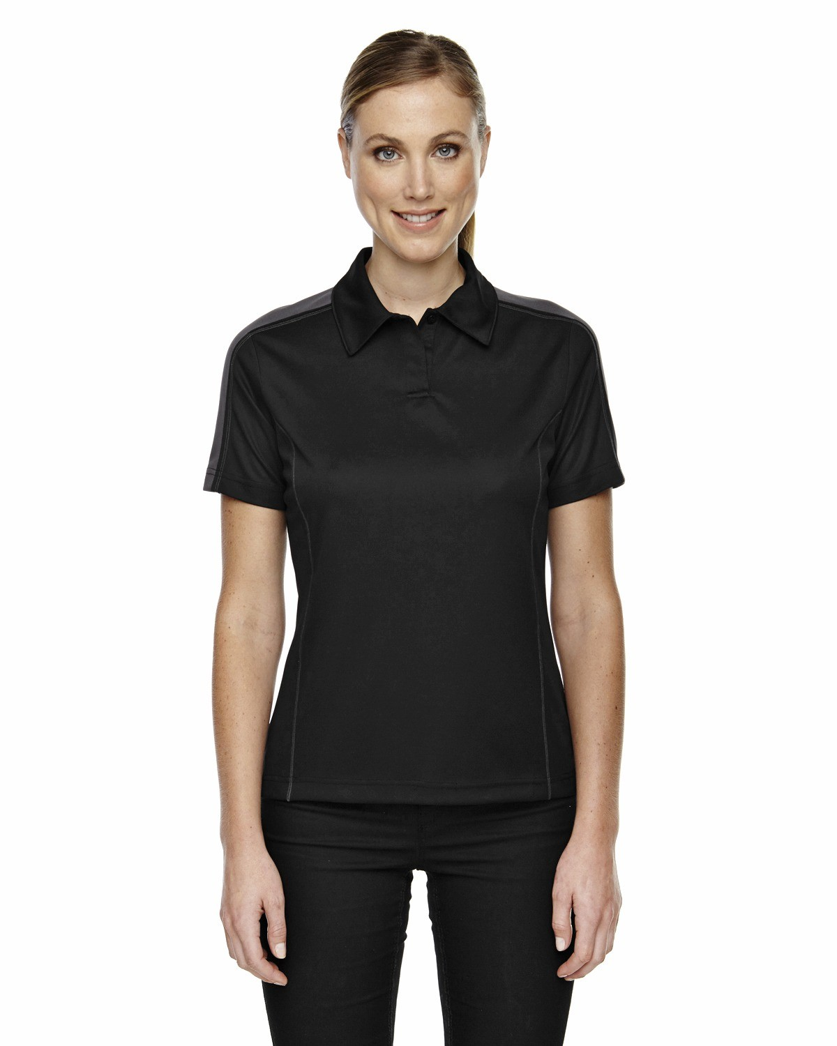 Ladies' Eperformance™ Piqué Colorblock Polo