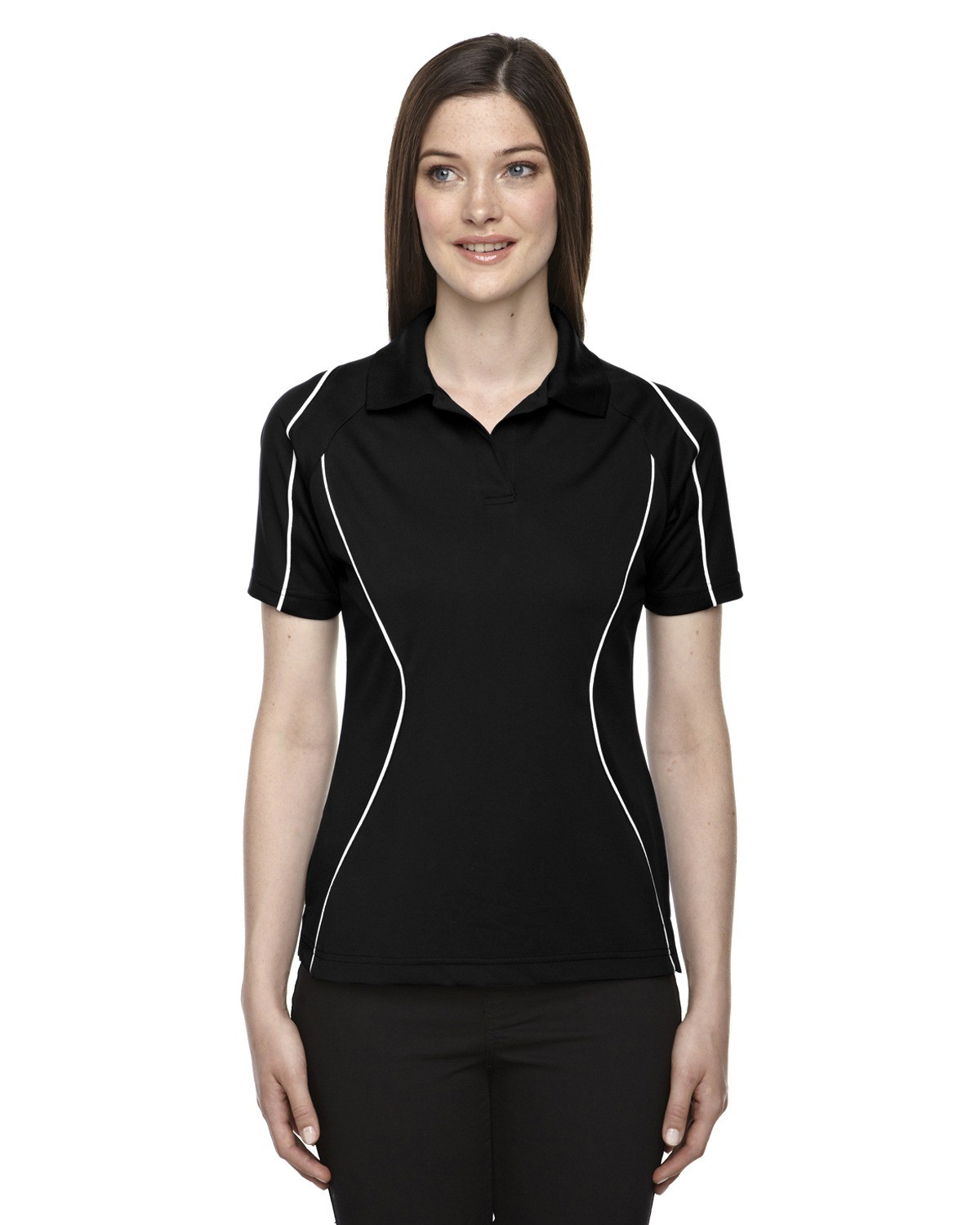 Ladies' Eperformance™ Velocity Snag Protection Colorblock Polo with Piping