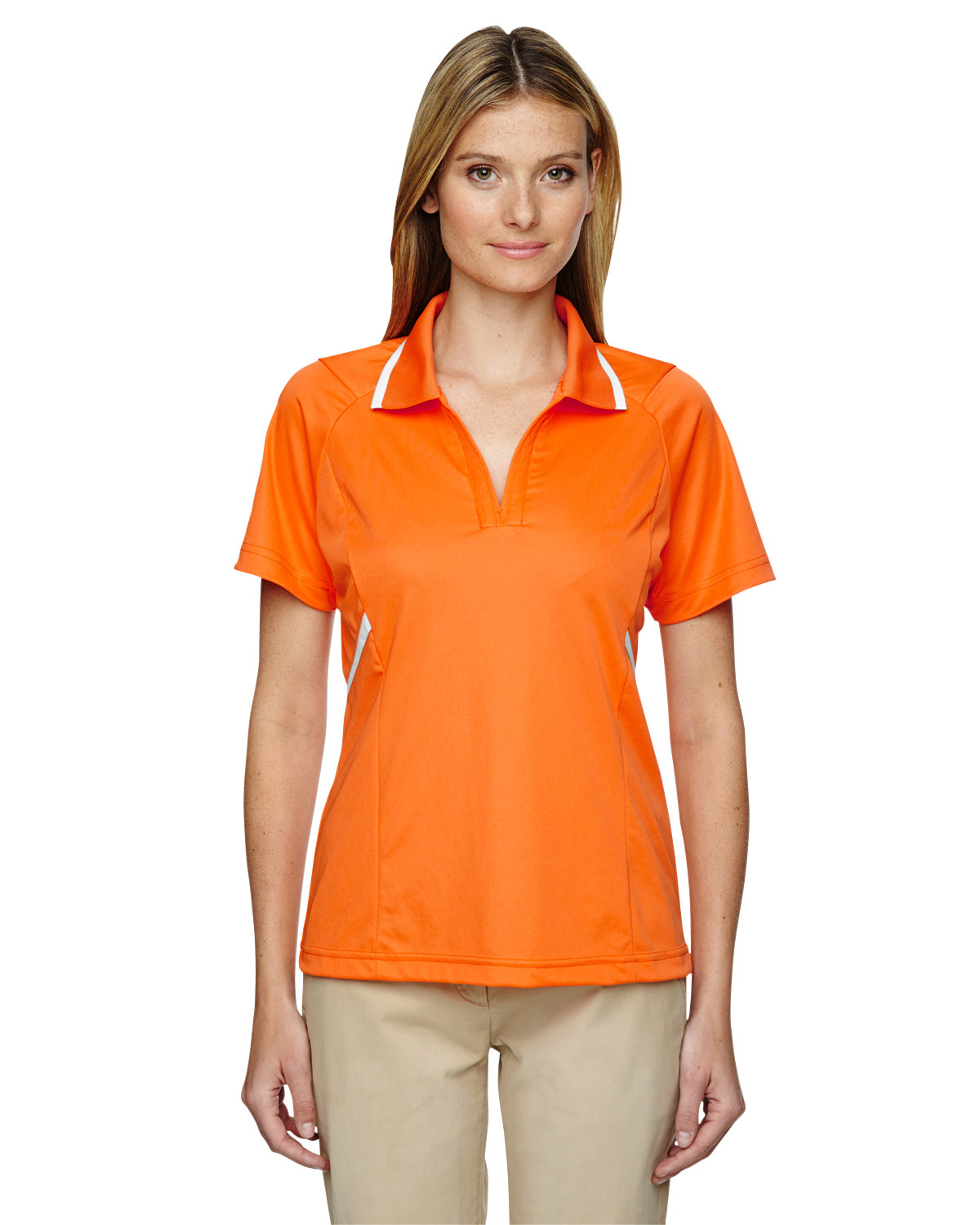 Ladies' Eperformance™ Propel Interlock Polo with Contrast Tape