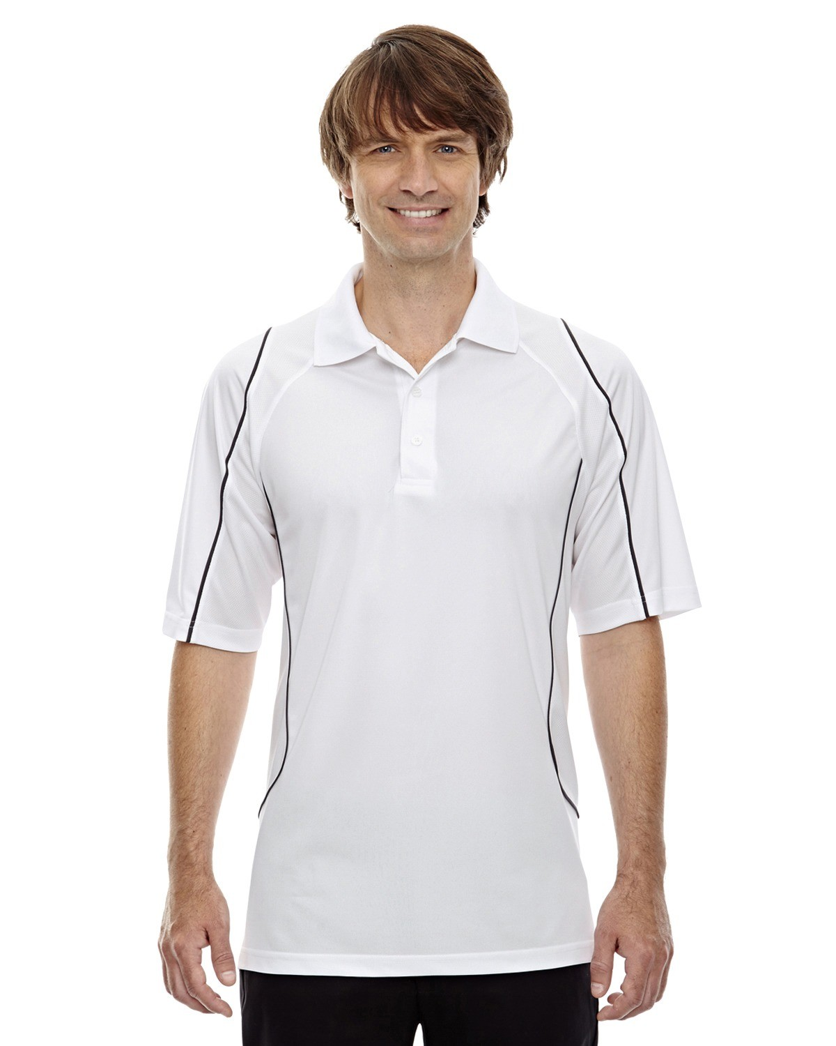 Men's Eperformance™ Velocity Snag Protection Colorblock Polo with Piping