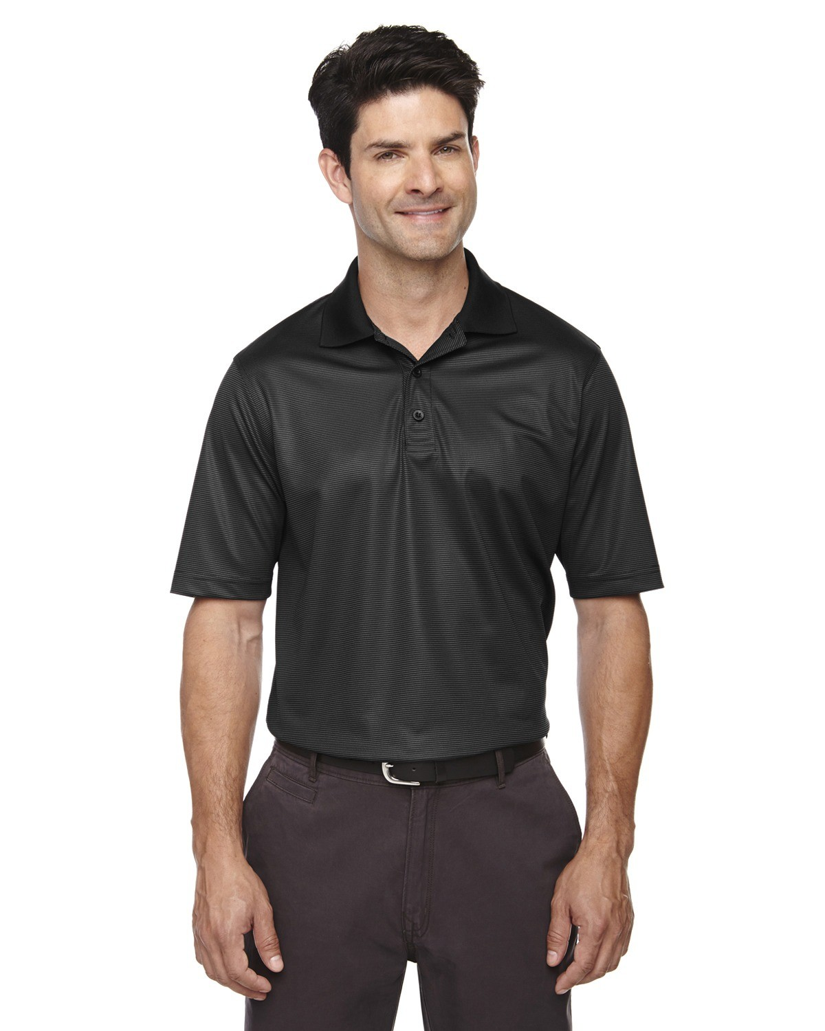 Men's Eperformance™ Launch Snag Protection Striped Polo
