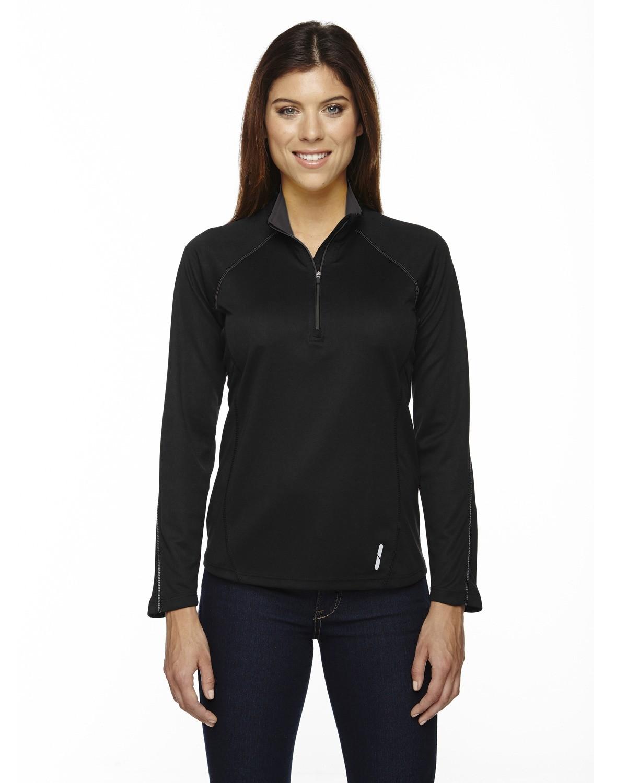 Ladies' Radar Quarter-Zip Performance Long-Sleeve Top