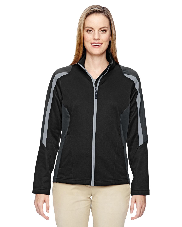 Ladies' Strike Colorblock Fleece Jacket