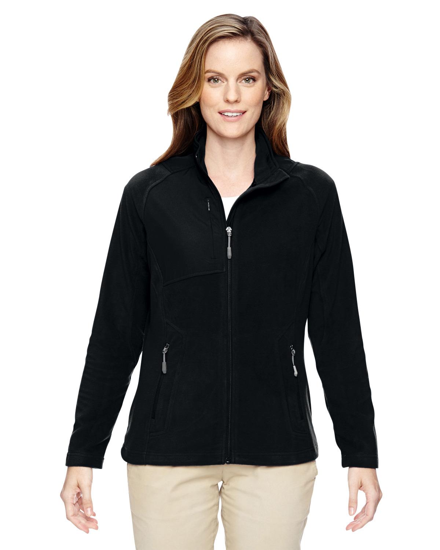 Ladies' Excursion Trail Fabric-Block Fleece Jacket