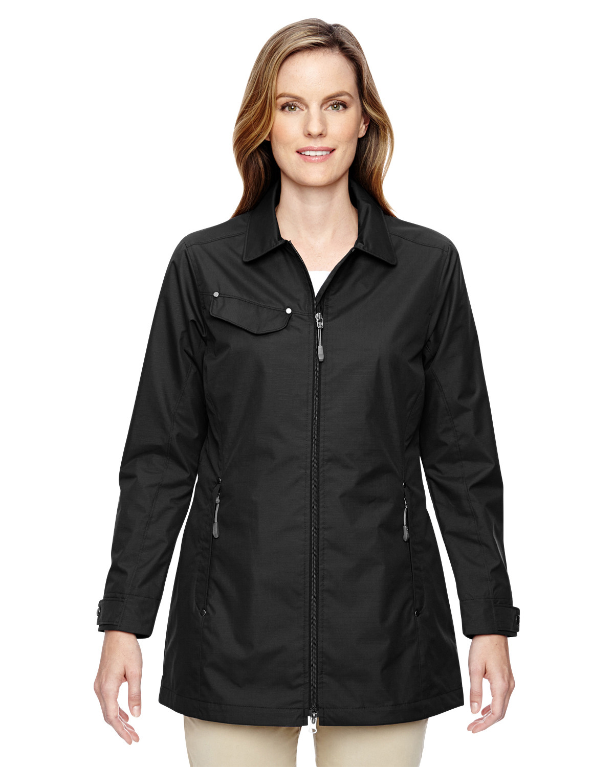 Ladies' Excursion Ambassador Lightweight Jacket with Fold Down Collar