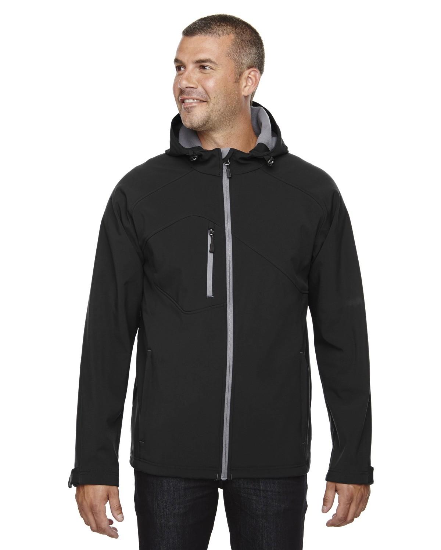 Men's Prospect Two-Layer Fleece Bonded Soft Shell Hooded Jacket