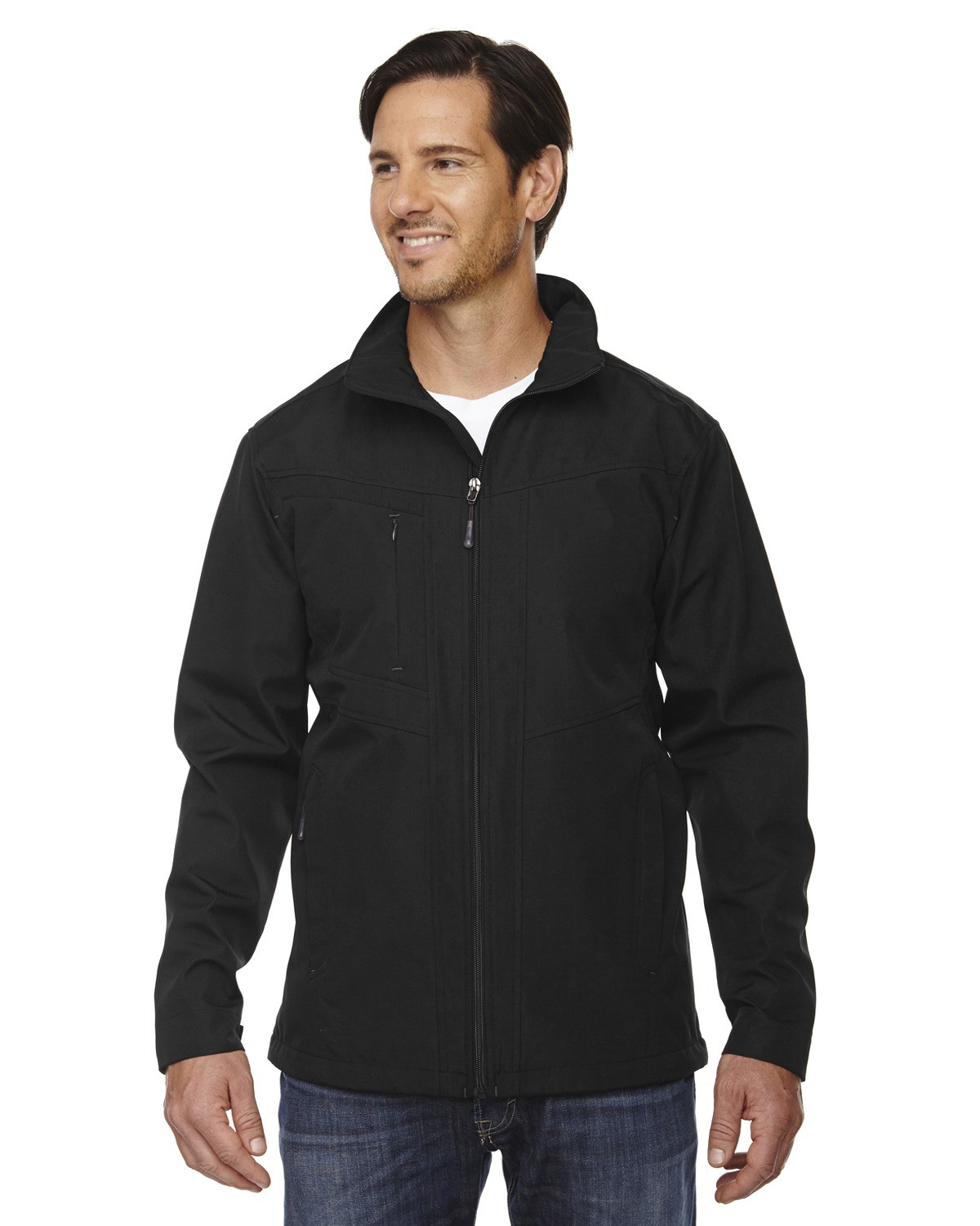 Men's Forecast Three-Layer Light Bonded Travel Soft Shell Jacket