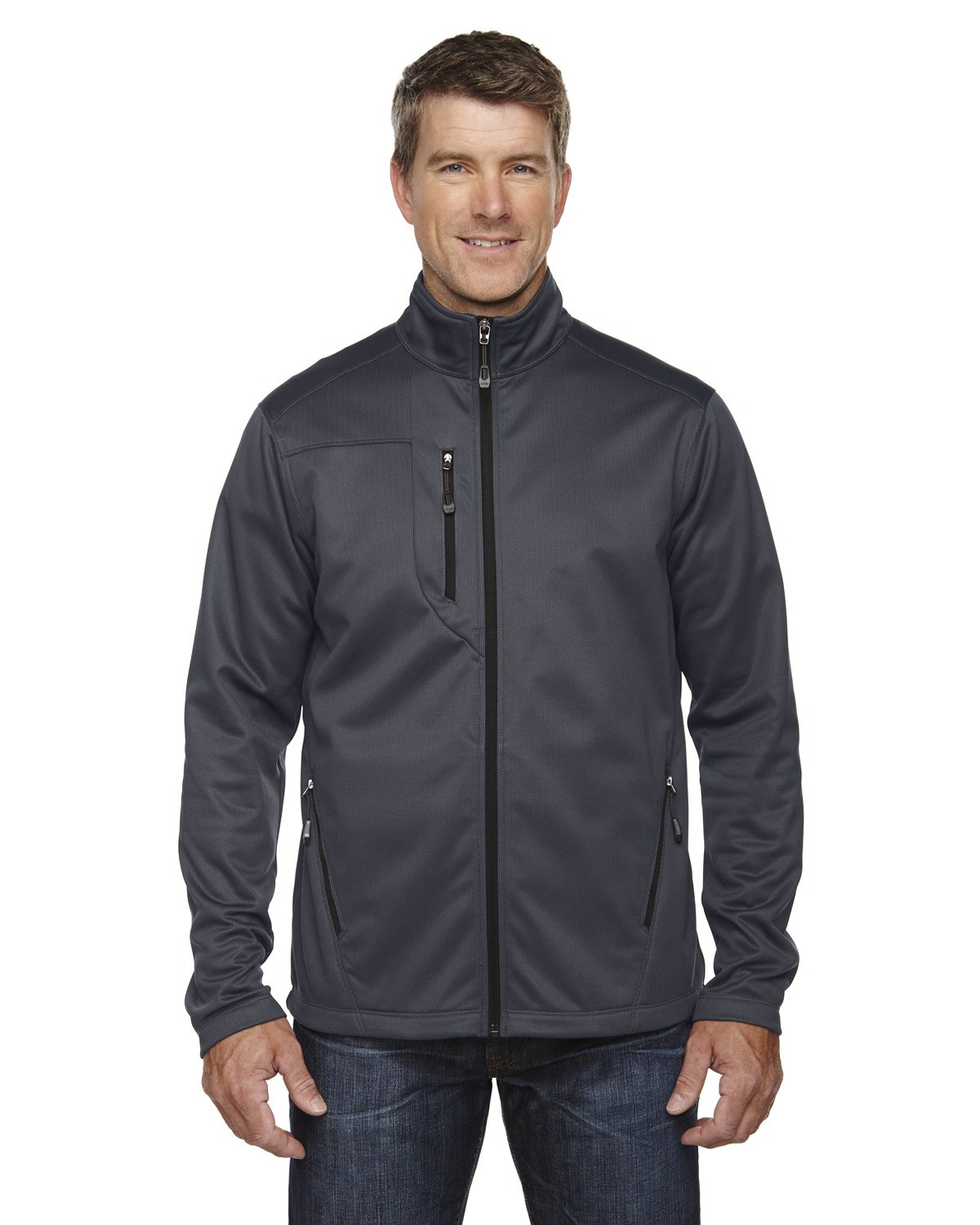 Men's Trace Printed Fleece Jacket