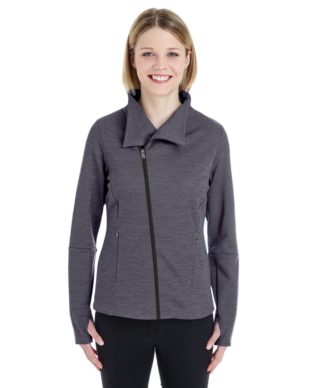 Ladies' Amplify Mélange Fleece Jacket