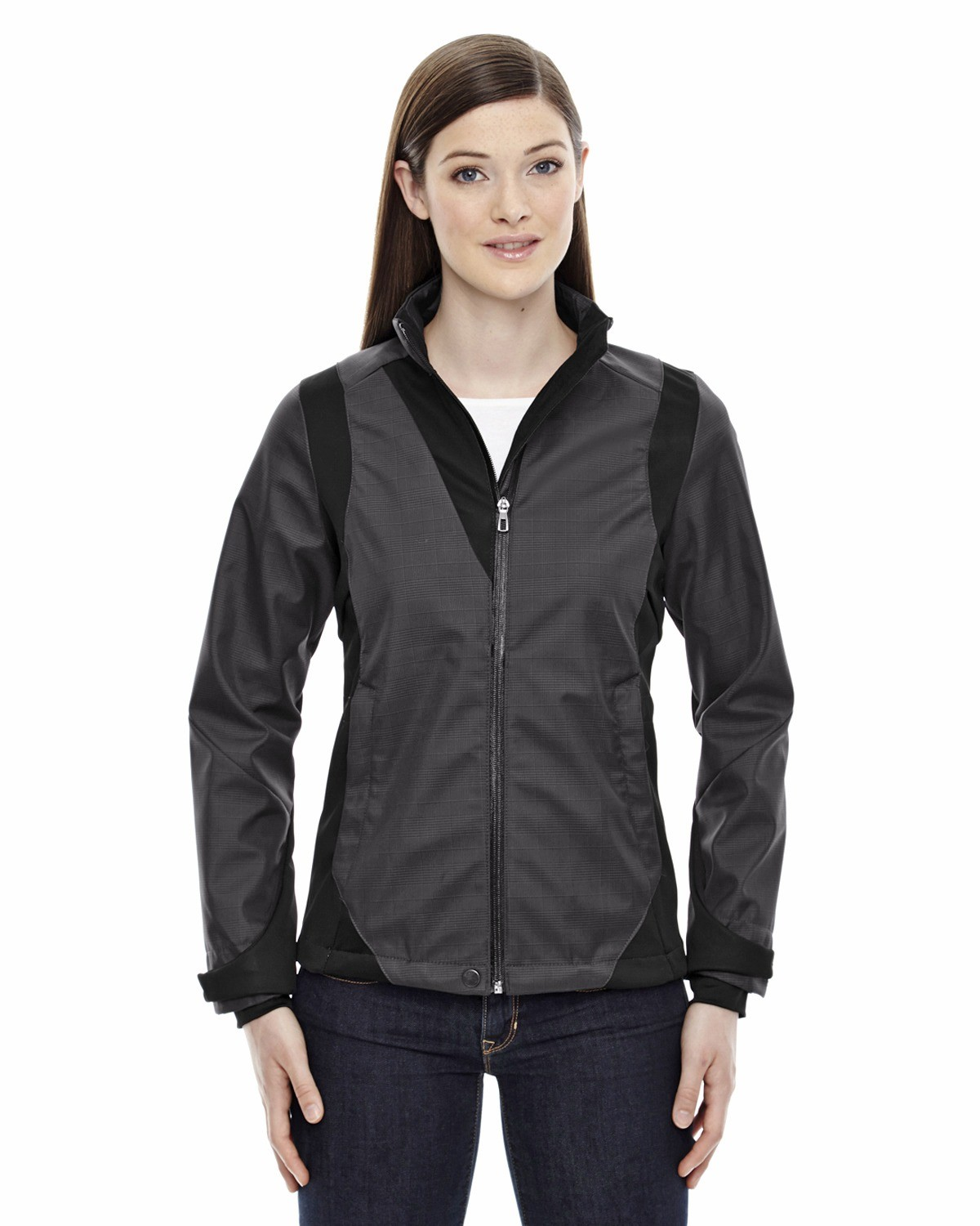 Ladies' Commute Three-Layer Light Bonded Two-Tone Soft Shell Jacket with Heat Reflect Technology