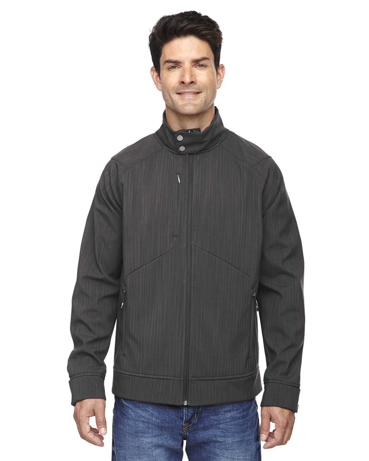 Men's Skyscape Three-Layer Textured Two-Tone Soft Shell Jacket