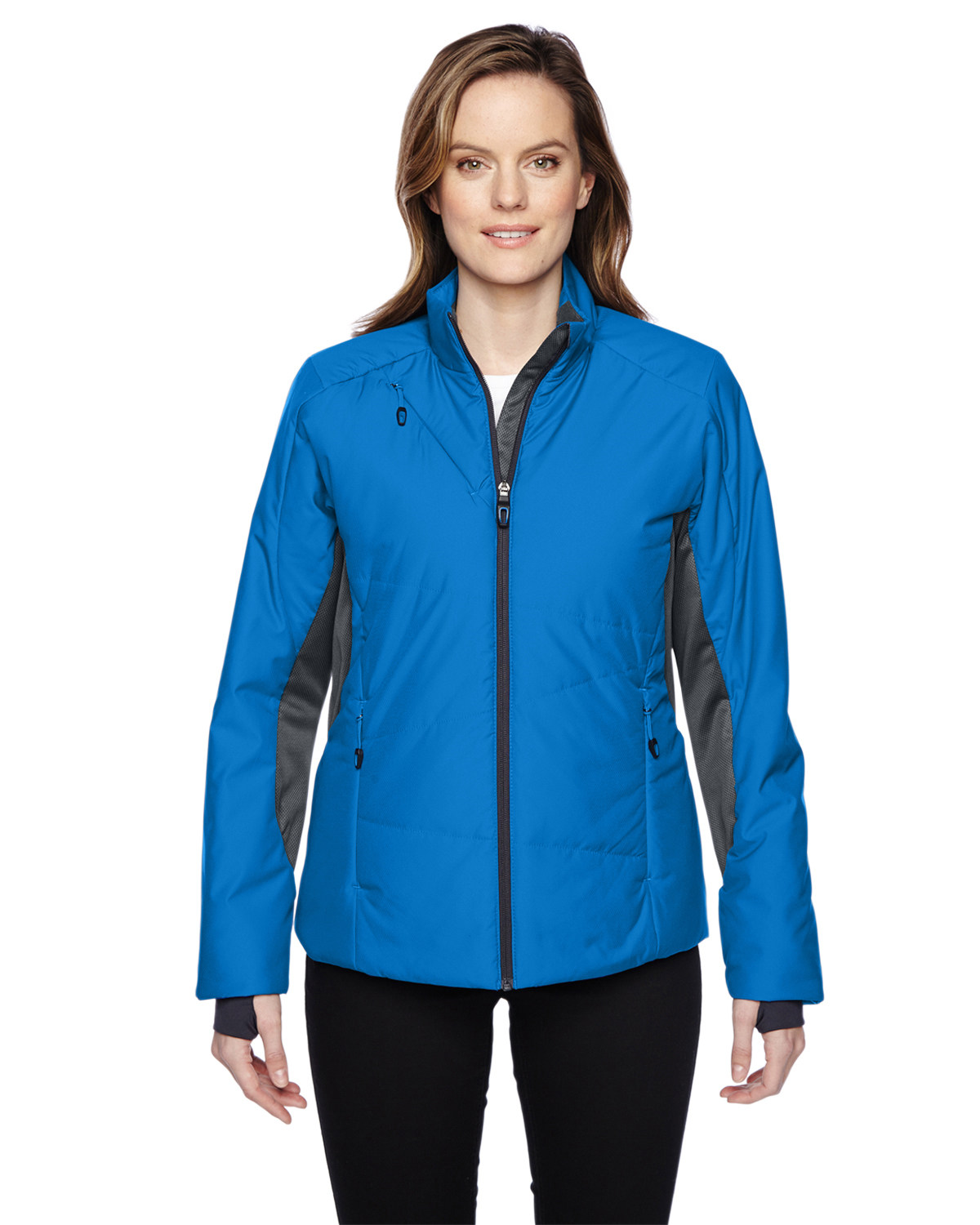 Ladies' Immerge Insulated Hybrid Jacket with Heat Reflect Technology