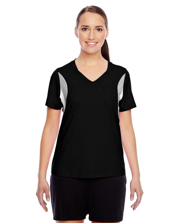 Ladies' Short-Sleeve Athletic V-Neck Tournament Jersey