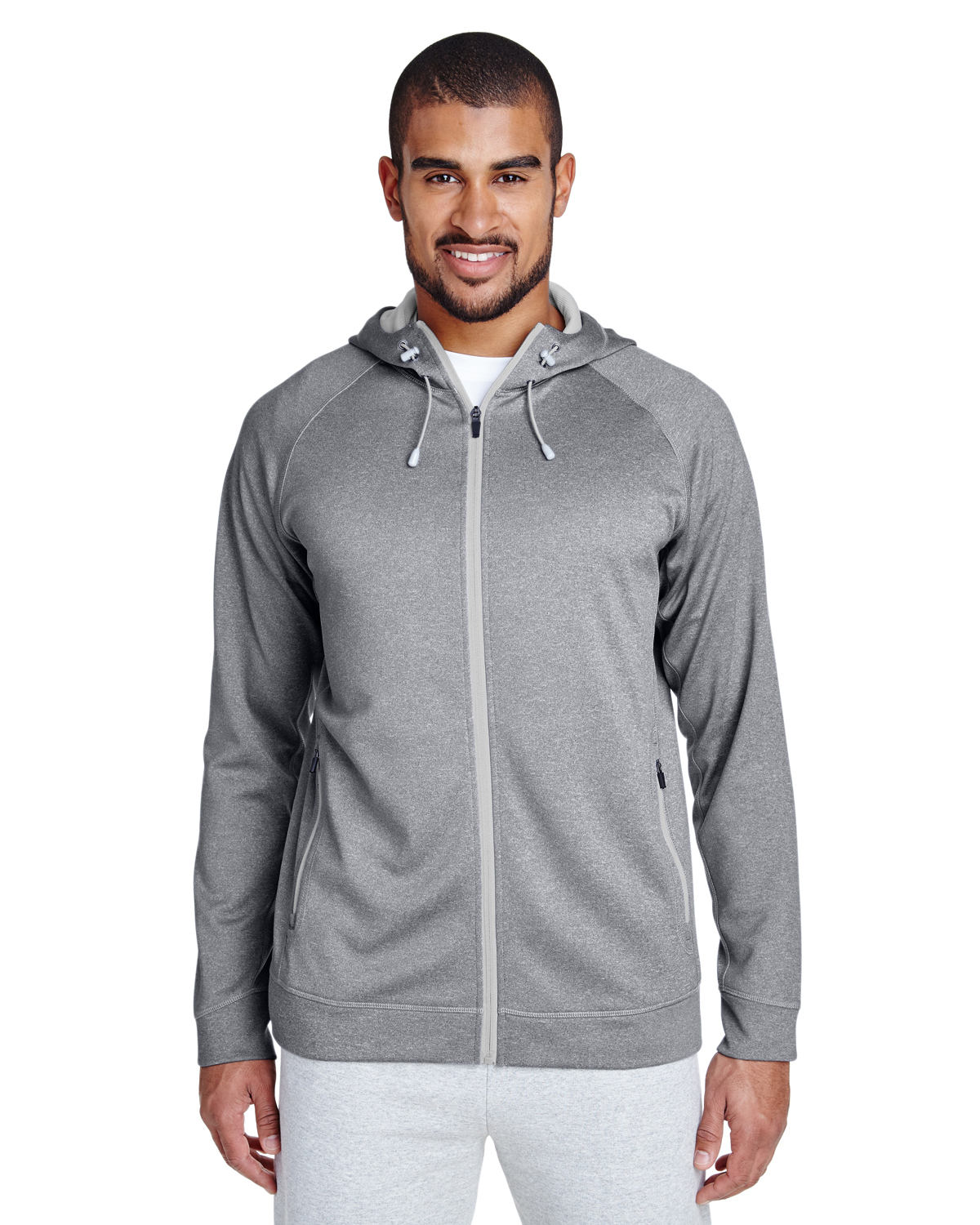 Men's Excel Mélange Performance Fleece Jacket