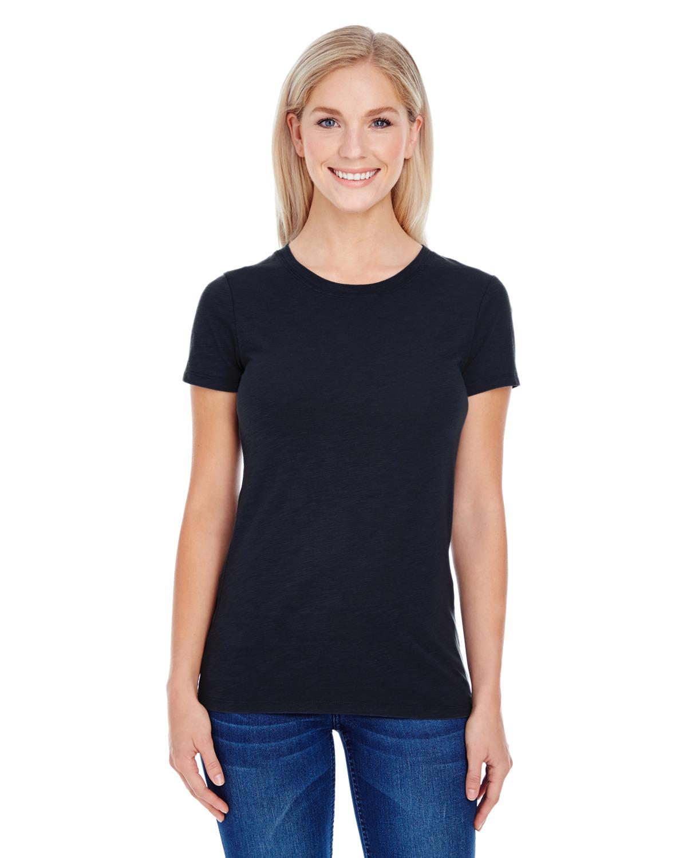 Ladies' Slub Jersey Short-Sleeve T-Shirt