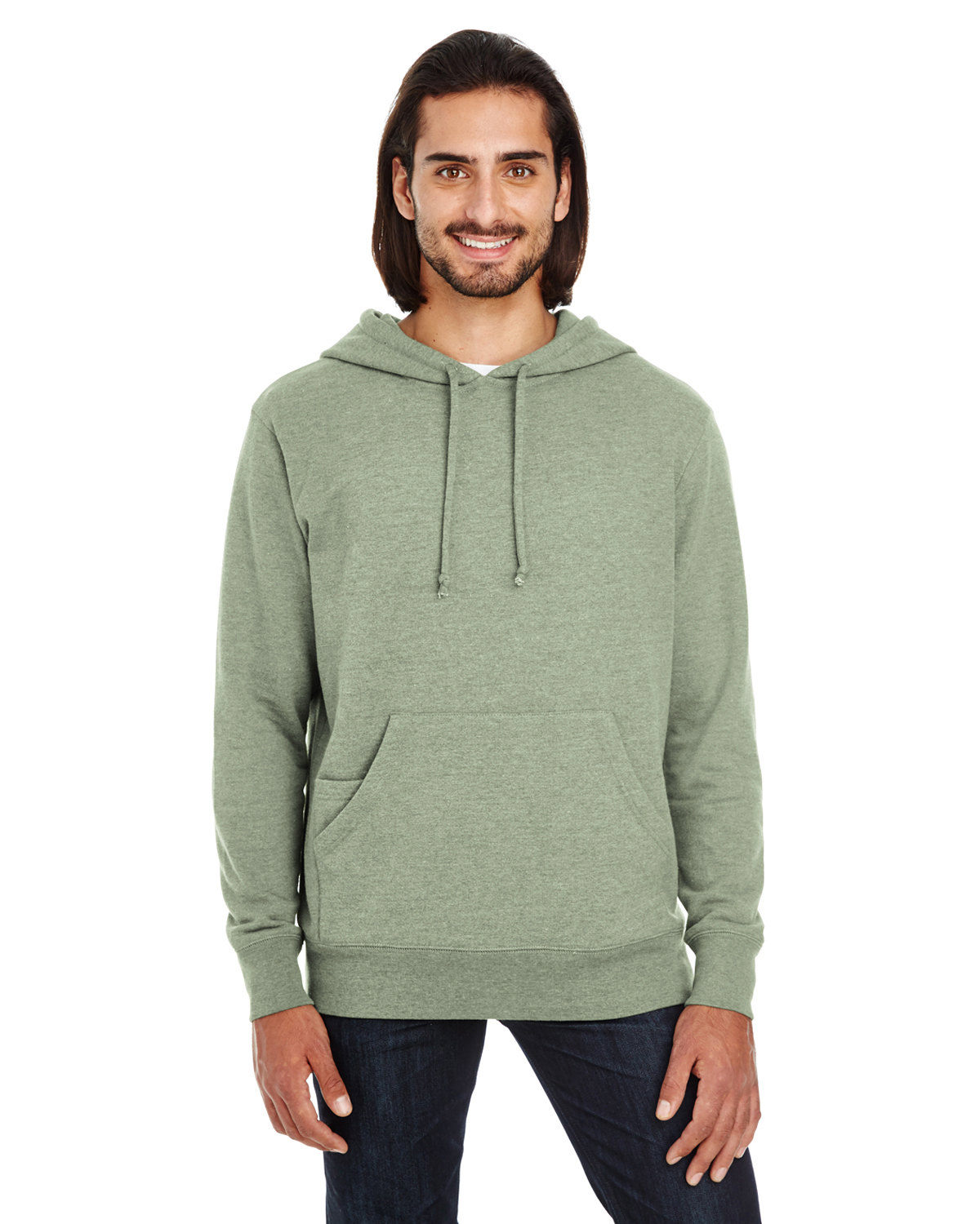 Unisex Triblend French Terry Hoodie