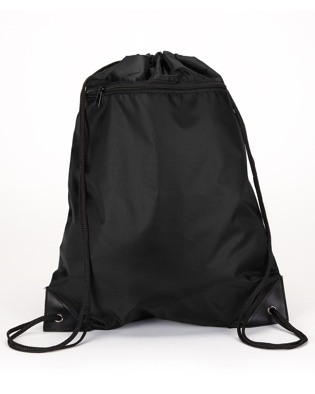 Zipper Drawstring Backpack
