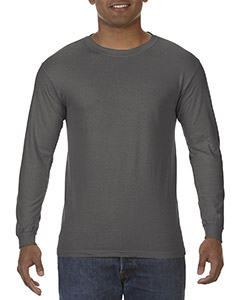 5.5 oz. Ringspun Garment-Dyed Long-Sleeve T-Shirt