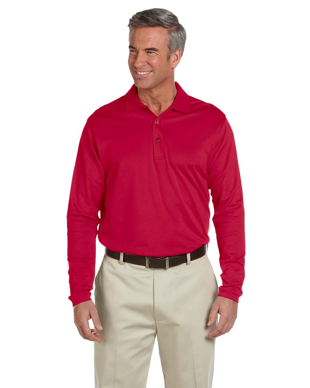 Men's EZ Tech Long-Sleeve Polo