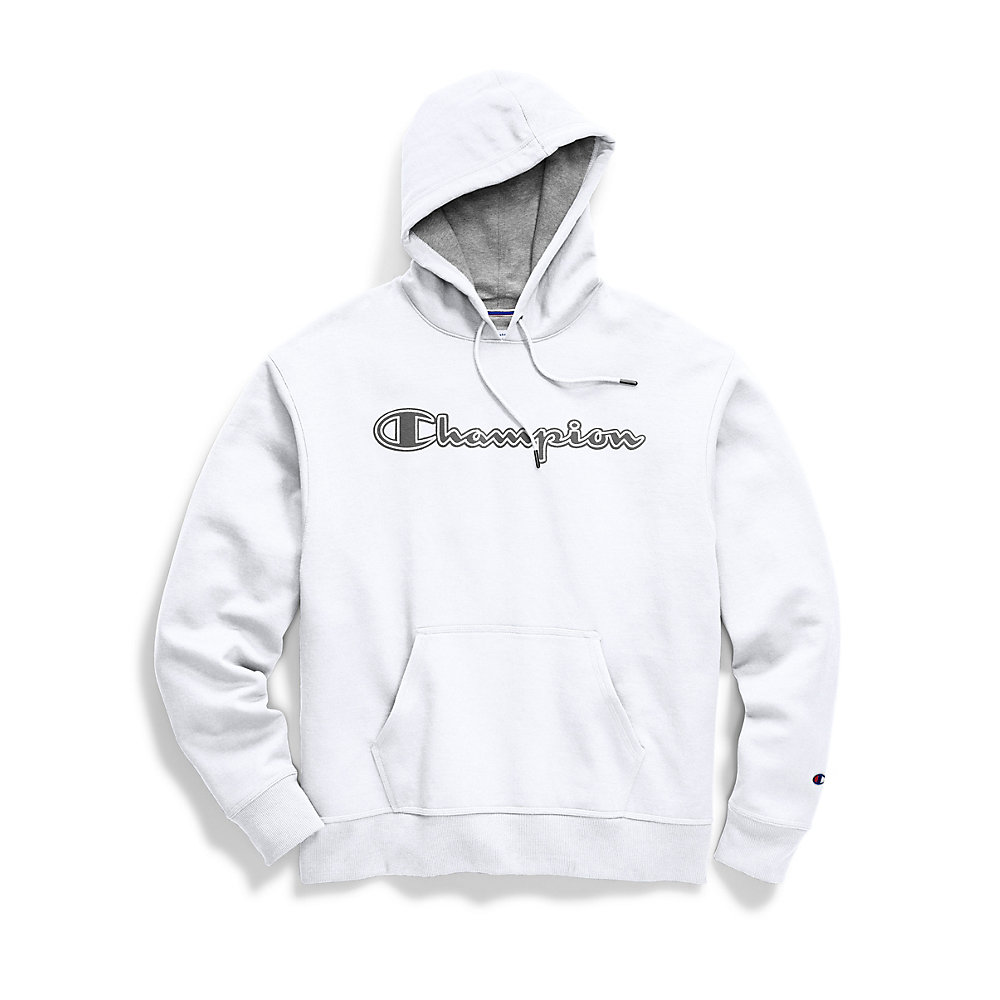 Champion Mens Powerblend Fleece Pullover Hoodie