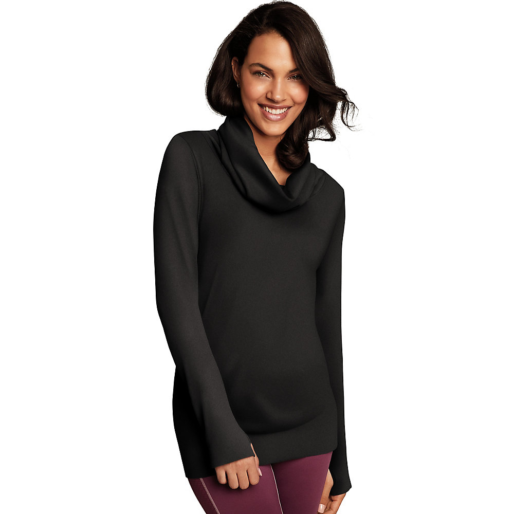 Maidenform Baselayer Thermal Cowl Neck