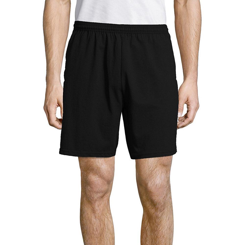 Hanes Men 39s Jersey Pocket Short