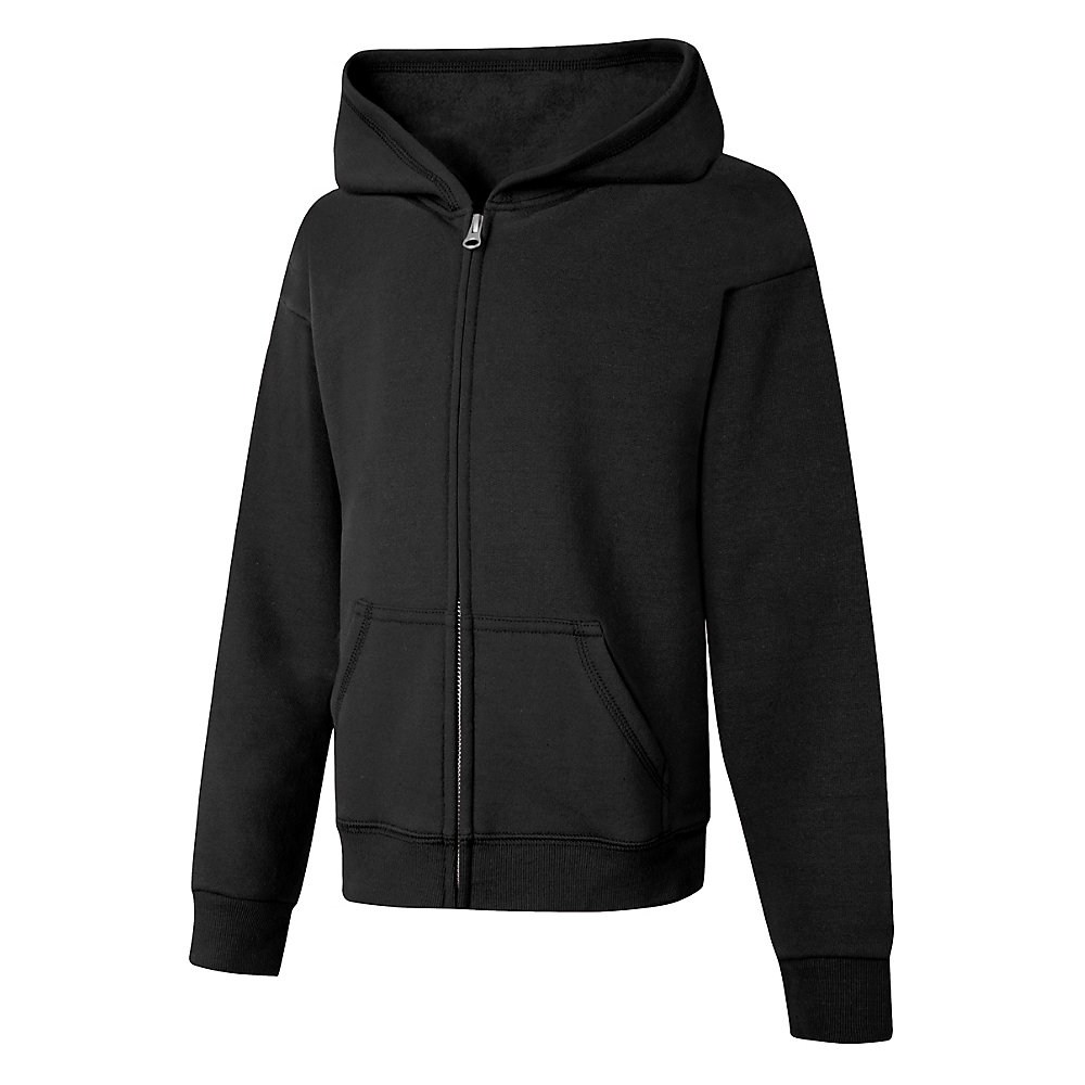 Hanes ComfortSoft EcoSmart Girls Full-Zip Hoodie Sweatshirt