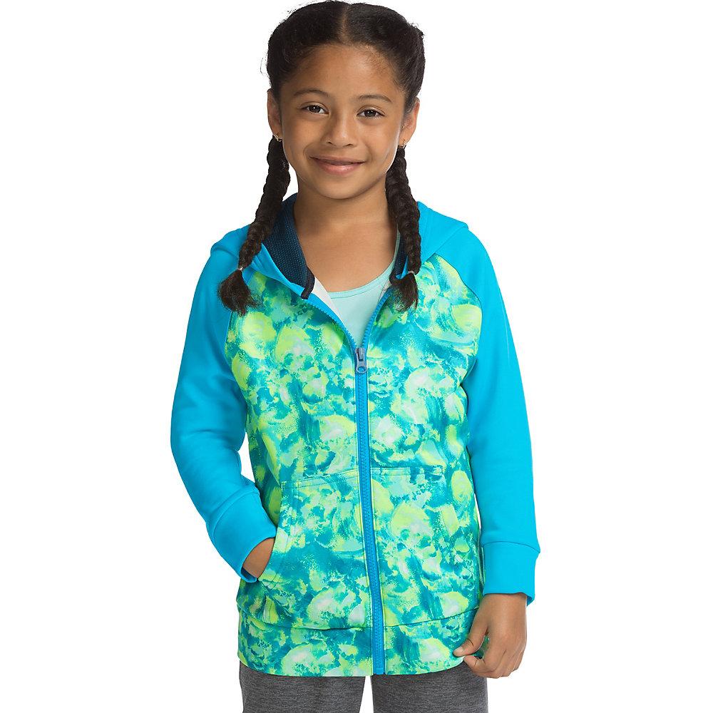 Hanes Sport Girls Tech Fleece Full Zip Hoodie