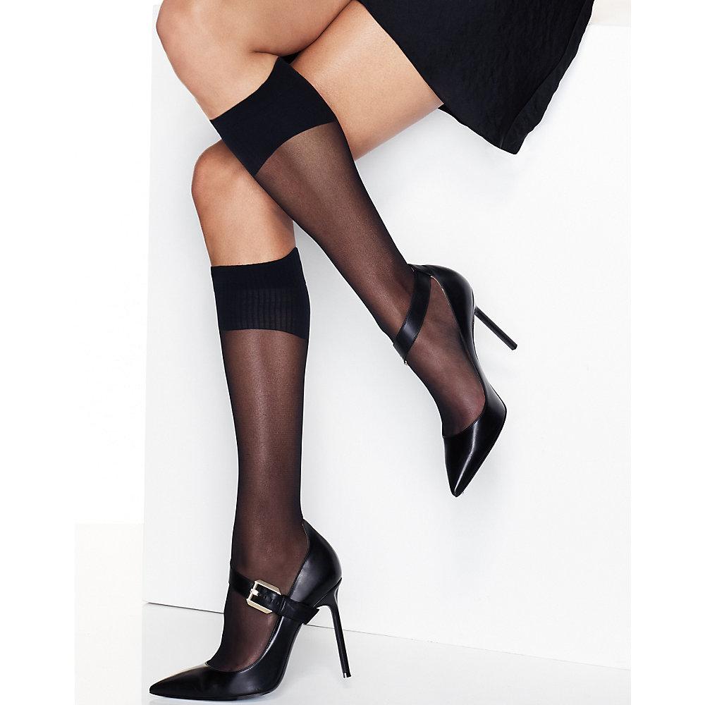 Hanes Perfect X-Temp Sheer Knee Socks 2-Pack