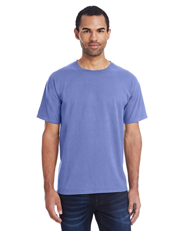 Men'S 5.5 Oz, 100% Ringspun Softness Cotton Garment-Dyed T-Shirt