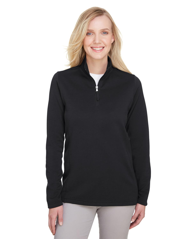 Ladies' Coastal Pique Fleece Quarter-Zip