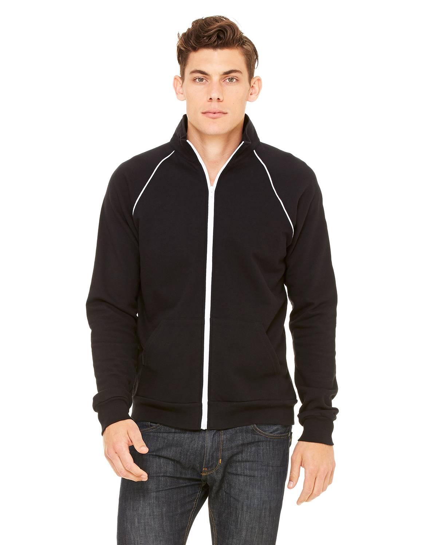 Men's Piped Fleece Jacket