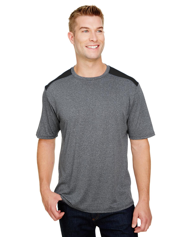 Men's Tourney Heather Color Block T-Shirt