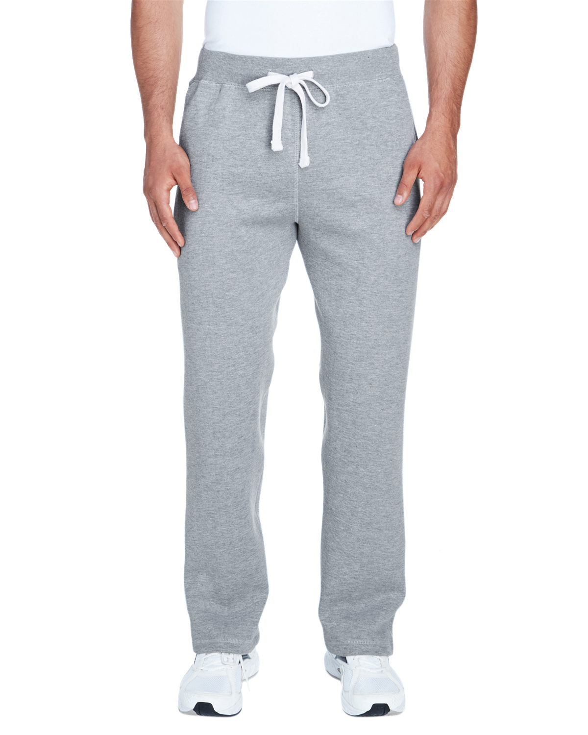 Adult Premium Open Bottom Fleece Pant
